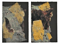 diptych by louise fishman