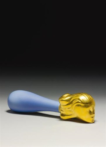 fallen woman blue by louise bourgeois