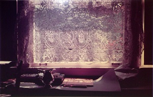 untitled (lace curtain) by william eggleston