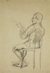bellman playing by albert edelfelt