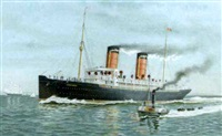 the s.s. campania by marcus ward