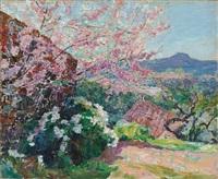 l'arbre en fleur by victor charreton