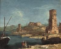 paesaggio costiero di fantasia by francesco albotto