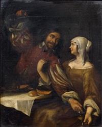 le couple by jacob ochtervelt