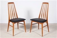 the eva chair (set of 6) by niels koefoed
