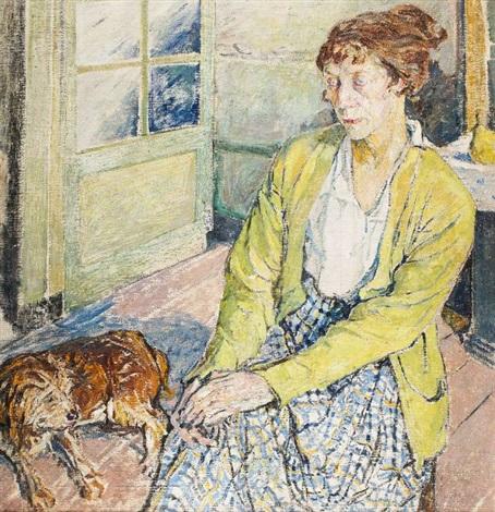 kobieta z psem by maria mela muter