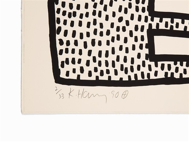 The blueprint drawings 17 by keith haring on artnet the blueprint drawings 17 by keith haring malvernweather Images