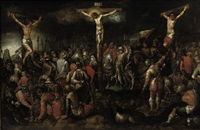 the crucifixion by hieronymus francken the elder