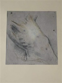 torse (study) by jacques emile (emile-jacques) lafon