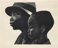 two generations by elizabeth catlett