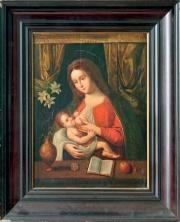 vierge à l'enfant by joos van cleve