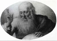 dio padre benedicente by andrea sabbatini
