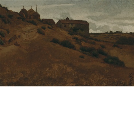 le casacce between perugia and gubbio by elihu vedder