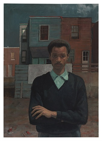 self portrait by louis b sloan