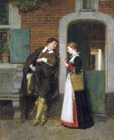 le couple amoureux by florent willems
