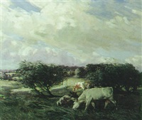 windswept pastures by percy hague jowett