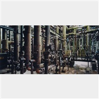 oil refineries #5, oakville, ontario by edward burtynsky