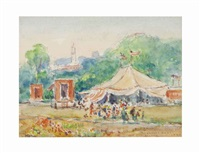 gloucester circus; and companion work (2 works) by reynolds beal