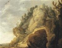 a rocky landscape by jacob van geel
