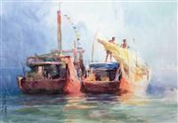 渔歌 by luo zonghai
