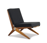 sessel scissor chair by pierre jeanneret