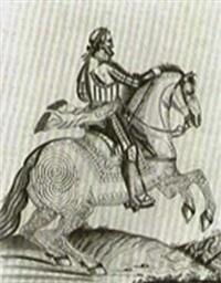 portrait equestre d'henri iv by auvrest