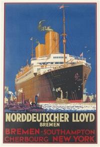 norddeutscher lloyd by harry hudson rodmell