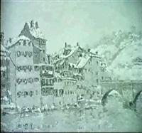 berner altstadt by charles baillon-vincennes