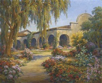 san juan capistrano mission by marius smith