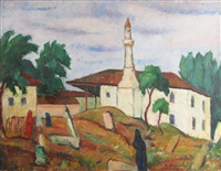 tartar cemetery by constantin bacalu