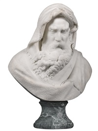 bust of winter by giovanni maria benzoni