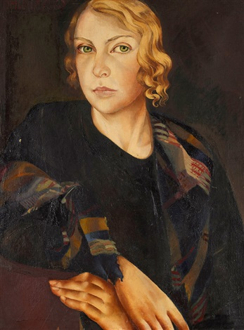 self portrait by lydia dmitrievsky