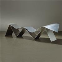 bench (model tuyomyo) by frank gehry