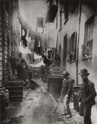 bandit's roost, 59-1/2 mulberry street by jacob august riis