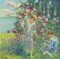 summer flowers by edward cucuel