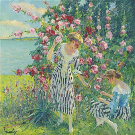 summer flowers by edward cucuel