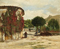 vue d'une terrasse by ludovic lepic