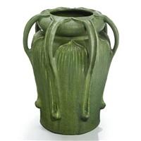 a seven-handled vase by george prentiss kendrick