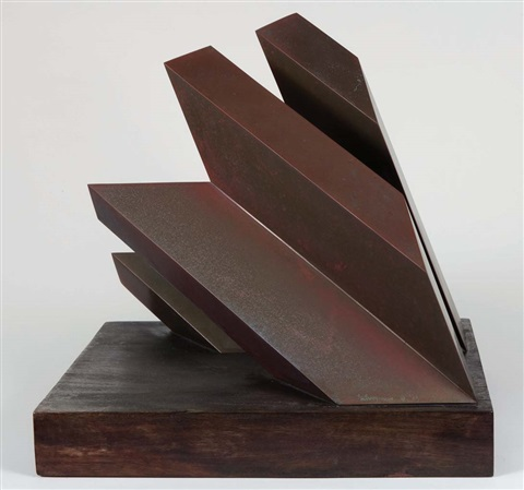 two bronze by arthur silverman