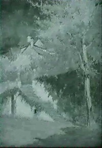 paysage d'automne by luigi arbarello