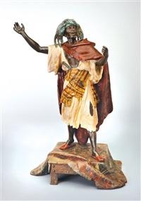 orientalist figure by arthur waagen