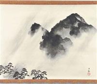 rain by taikan yokoyama