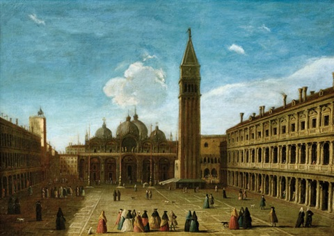plaza san marcos by bernardo bellotto