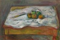 stilleben med epler by torstein torsteinson