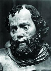 rzeźba apostoła z ołtarza mariackiego wita stwosza w krakowie by stanislaw kolowca