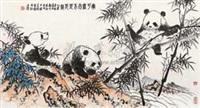 宁可无肉不可无竹 by hong shiqing