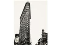 flatiron building, new york by berenice abbott