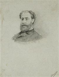 ritratto maschile by francesco saverio altamura