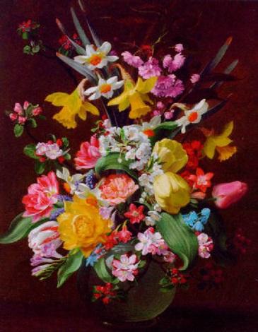 summer blooms by john e nicholls