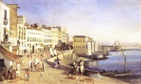 le port de naples by felix fouilhouze